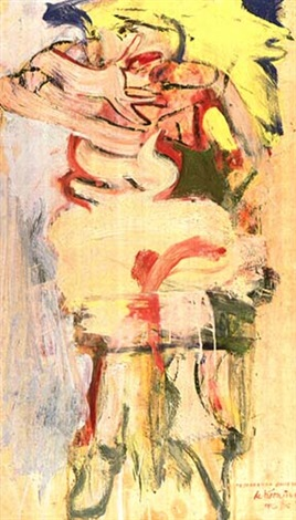 Willem de Kooning-A Woman-1965
