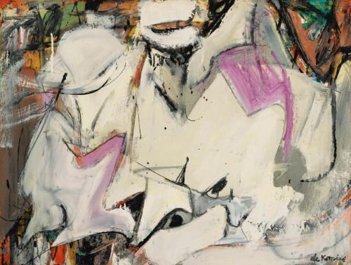 Willem de Kooning-Abstraction-1949