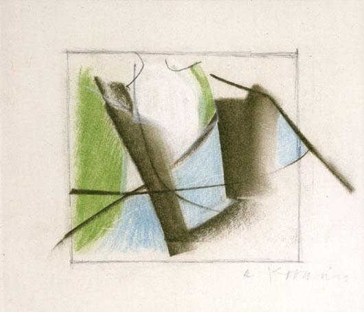 Willem de Kooning-Abstraction-1956