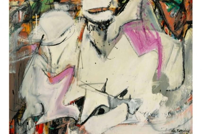 what is abstract art Willem de Kooning abstract painting