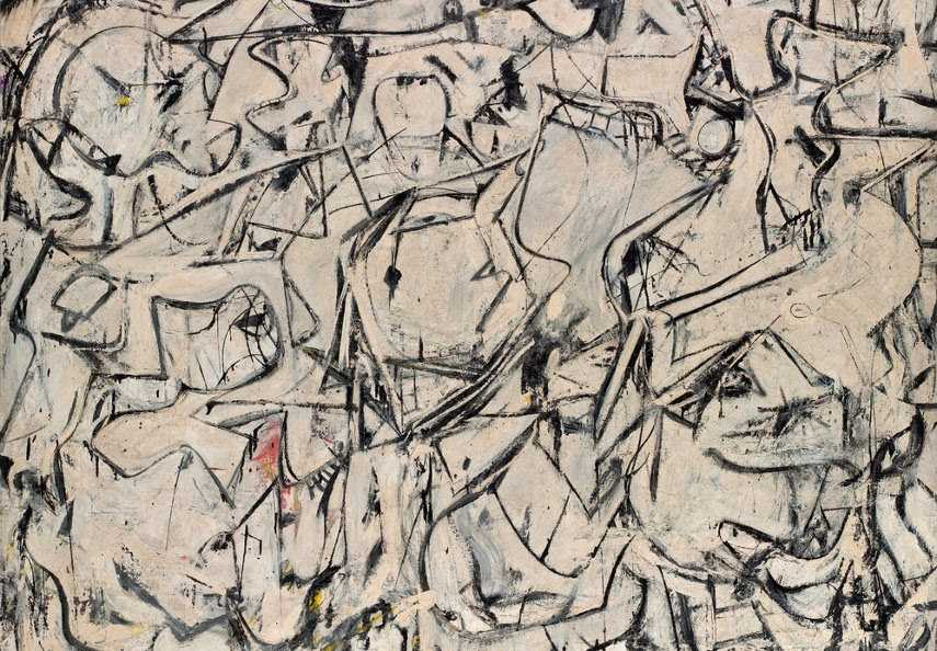 de Kooning - Attic, 1949 - Image via theredlistcom