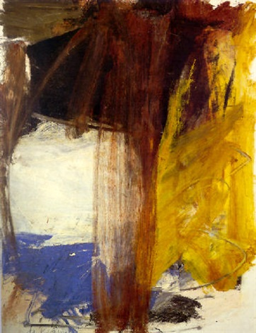 Willem de Kooning-Brown Derby Road-1958