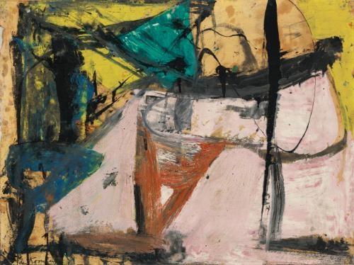 Willem de Kooning-Cedar Street-1956