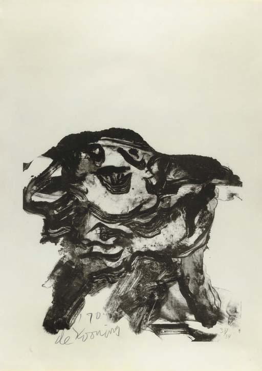 Willem de Kooning-Clam Digger (Graham 10)-1971
