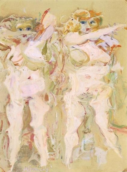 Willem de Kooning-Clam Diggers-1964