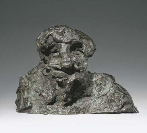 Willem de Kooning-Clamdigger Bust-1972