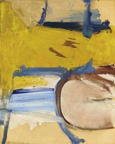 Willem de Kooning-Composition-1958