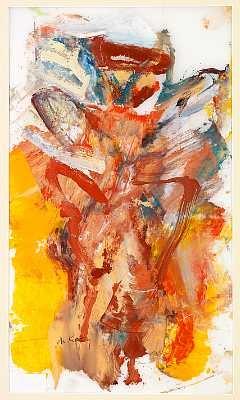 Willem de Kooning-Composition-1976