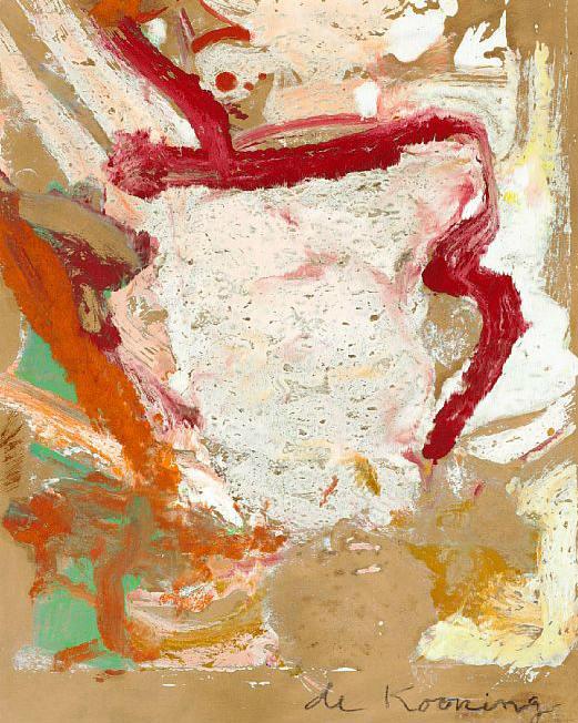 Willem de Kooning-Composition-1978