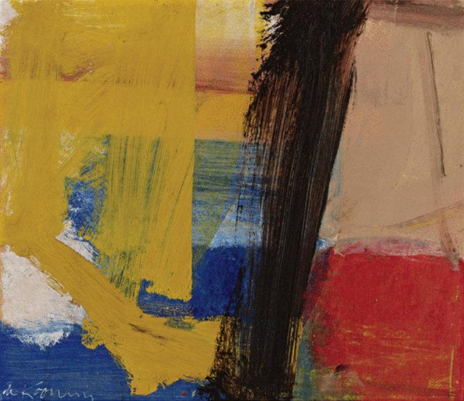Willem de Kooning-Composition III-1958