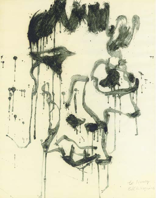 Willem de Kooning-Decomposition of Man-1970