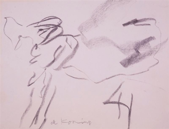 Willem de Kooning-Dog-1970