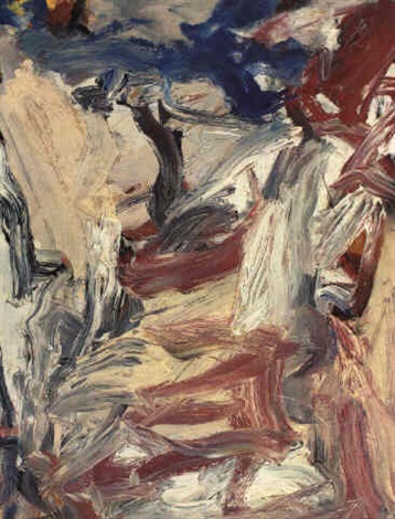 Willem de Kooning-East Hampton IV-1976