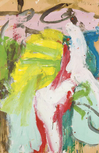 Willem de Kooning-East Hampton XXI-1968