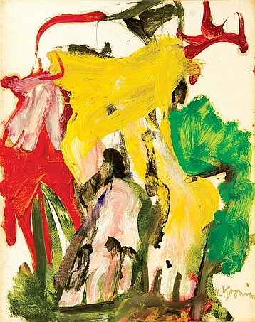 Willem de Kooning-East Hampton XXVII-1968