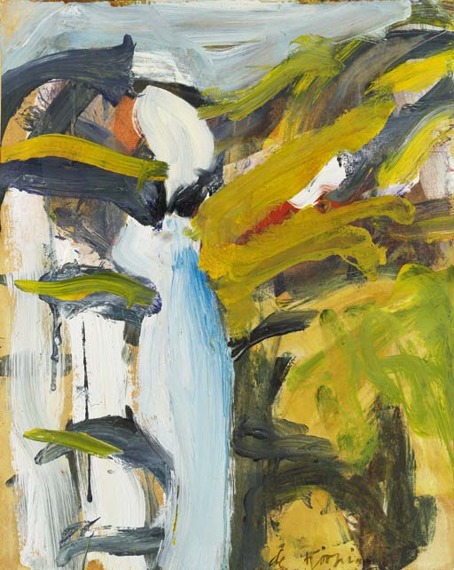 Willem de Kooning-East Hampton IV-1968