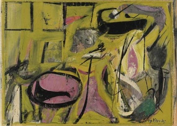 Willem de Kooning-Event In A Barn-1947
