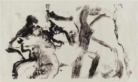 Willem de Kooning-Few Tusche Strokes-1970