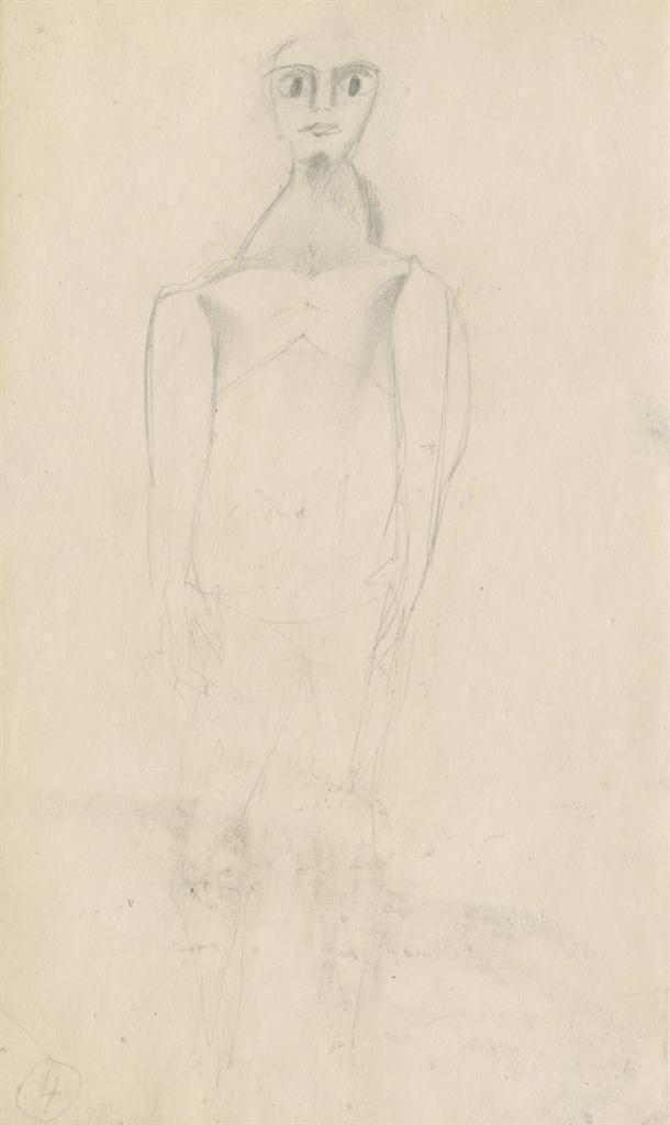 Willem de Kooning-Figure-1950