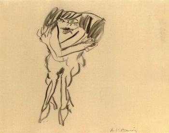 Willem de Kooning-Figure-1968