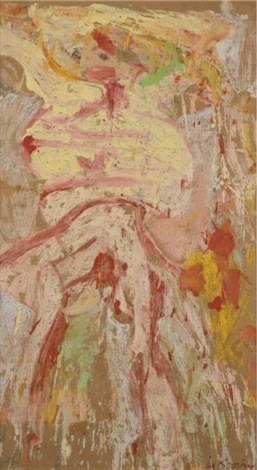 Willem de Kooning-Figure-1969