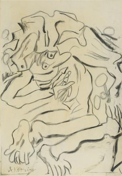 Willem de Kooning-Figure-1970
