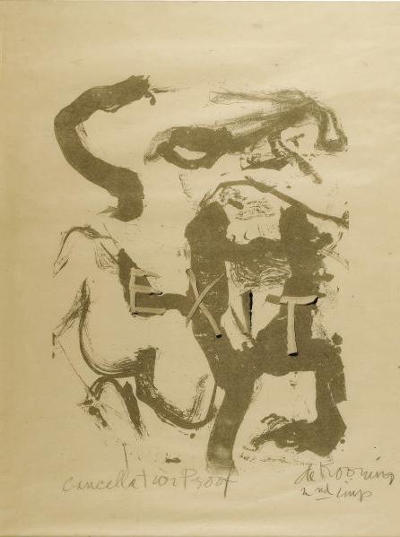 Willem de Kooning-Figure at Gerard Beach-1970
