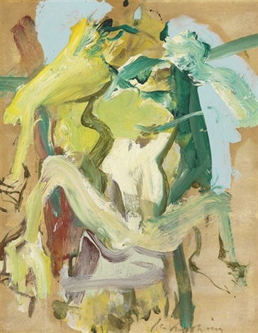 Willem de Kooning-Figure in Water-1967