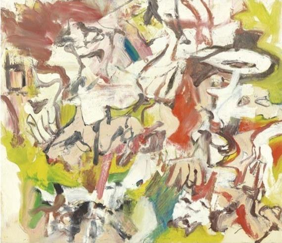 Willem de Kooning-Figures In a Landscape No.2-1976
