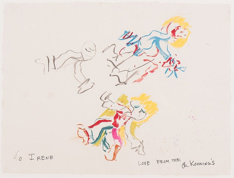 Willem de Kooning-For Lisa-1984