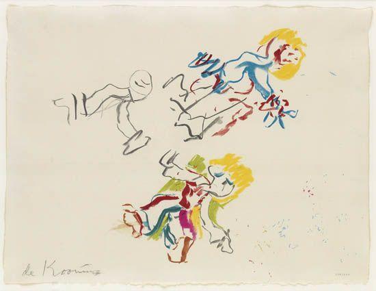 Willem de Kooning-For Lisa-1984