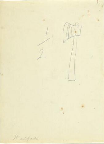 Willem de Kooning-Halfax (Halbaxt)-