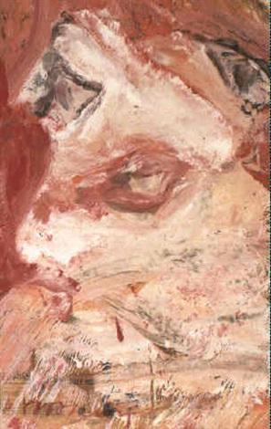 Willem de Kooning-Head-1967