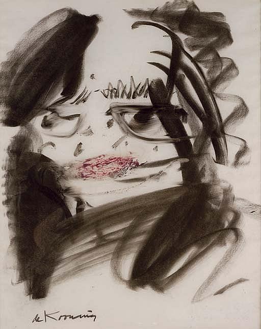 Willem de Kooning-Head of a Women-1965
