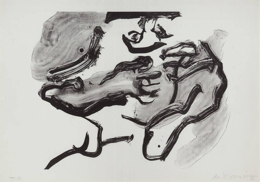 Willem de Kooning-Horse Head-1971