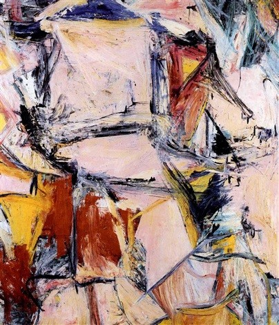 Willem de Kooning-Interchange-1955