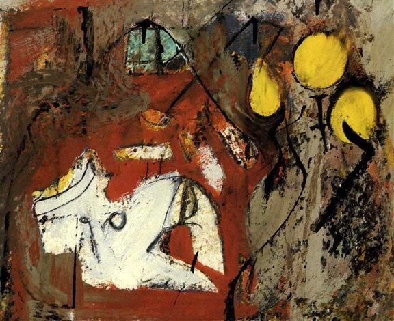 Willem de Kooning-Interior-1946