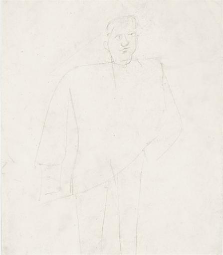 Willem de Kooning-Jack Greenbaum-1945
