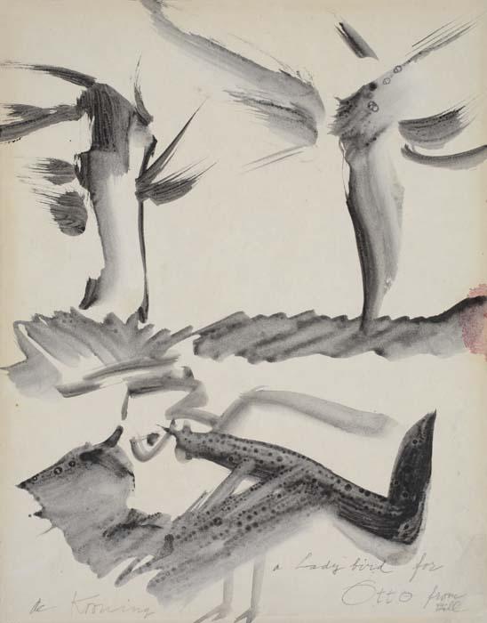 Willem de Kooning-Ladybird-