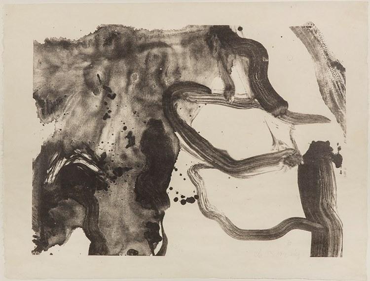 Willem de Kooning-Landing Place-1970