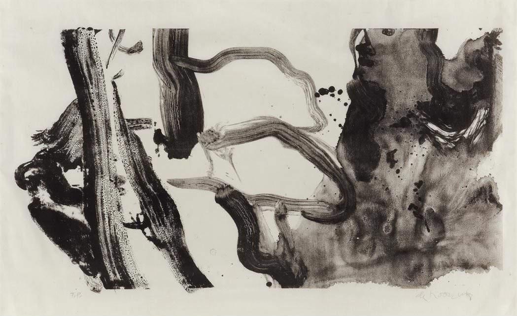 Willem de Kooning-Landing Place No.2-1970