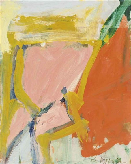 Willem de Kooning-Landscape I-1968