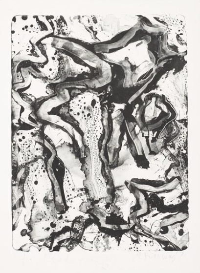 Willem de Kooning-Landscape at Standon Street-1971