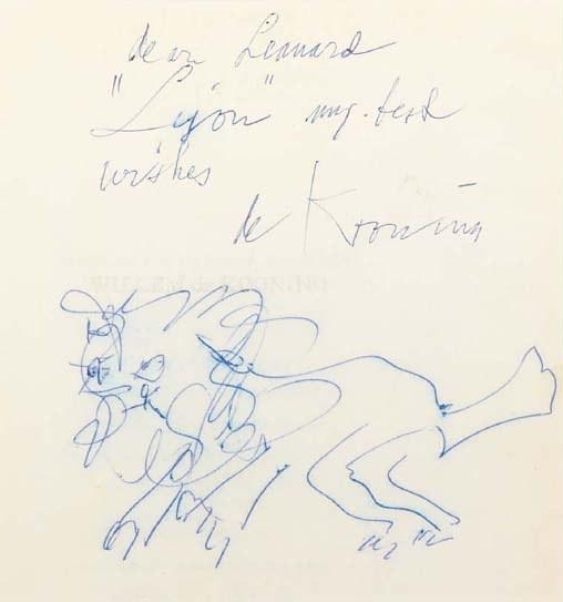 Willem de Kooning-Lion-
