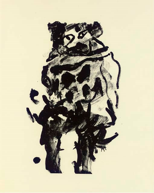 Willem de Kooning-Litho No.10-1966