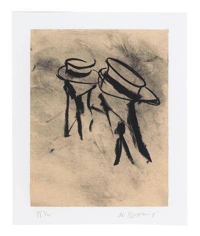 Willem de Kooning-Lithographien fur Frank OHara-