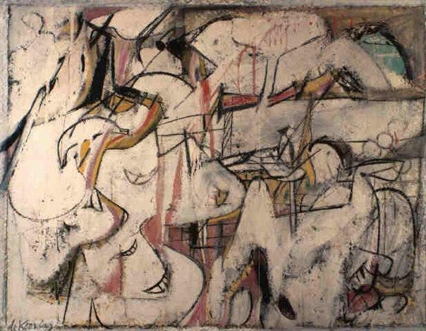 Willem de Kooning-Mailbox-1948