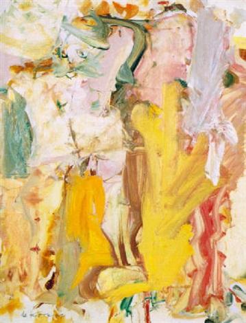 Willem de Kooning-Male Figure-1964