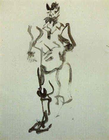 Willem de Kooning-Man-1964