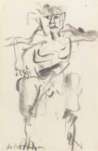 Willem de Kooning-Man-1966